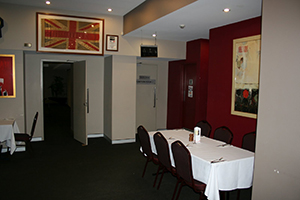 The Pacific Room - Function Room 2, is on the right