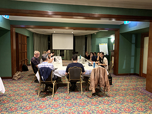 Roseville Toastmasters club meeting at the Greengate Hotel
